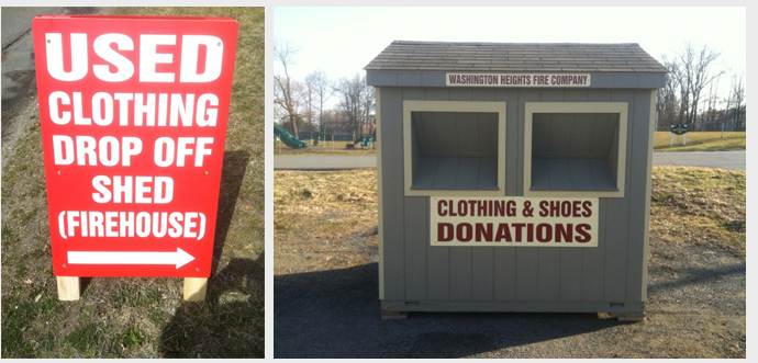 Year Round Clothing Collection Stations | Clothing Drive Fundaiser